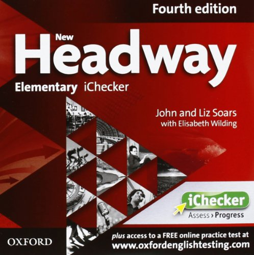 9780194770620: New Headway 4e Elementary Ichecker CD-rom
