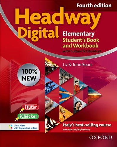 9780194770774: New headway digital. Elementary. Student's book-Workbook. With key. Per le Scuole superiori. Con CD-ROM. Con espansione online