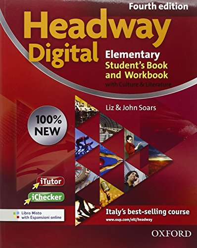 9780194770781: New headway digital. Elementary. Student's book-Workbook. Without key. Per le Scuole superiori. Con CD-ROM. Con espansione online