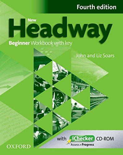 9780194771085: New Headway: Beginner Fourth Edition: Workbook + iChecker with Key