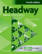 9780194771092: New Headway 4e Beginner Workbook Esol with Key Pack (Uk)