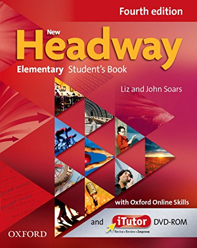 9780194772723: New Headway: Elementary Fourth Edition: Student's Book with iTutor and Oxford Online Skills