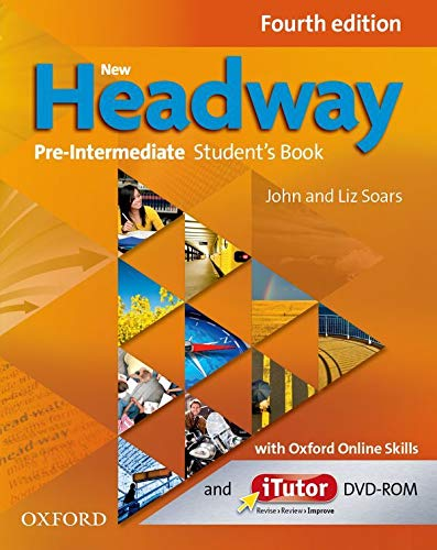 9780194772754: New Headway: Pre-Intermediate Fourth Edition: Student's Book with iTutor and Oxford Online Skills