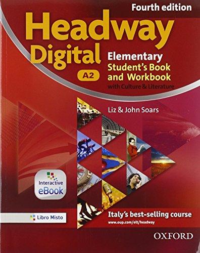 9780194772921: Headway digital. Elementary. Student's book-Workbook. With key. Con e-book. Con espansione online. Per le Scuole superiori