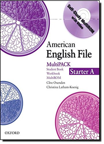 9780194774055: American English File Starter: MultiPack A