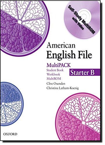 9780194774093: American English File Starter: Student Book/Work Book Multipack B