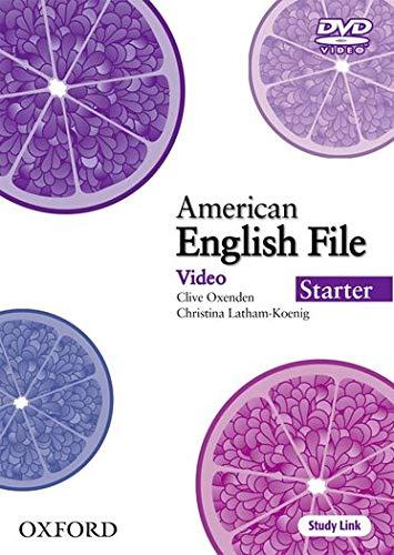 9780194774154: American English File Starter: DVD