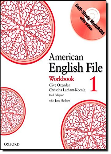 9780194774185: American English File Level 1: Workbook with Multi-ROM Pack