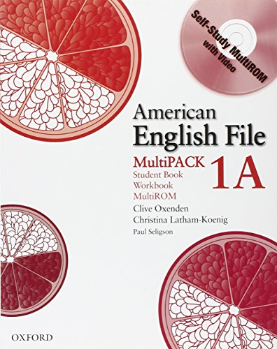 9780194774215: American English File Level 1 Student and Workbook Multipack A