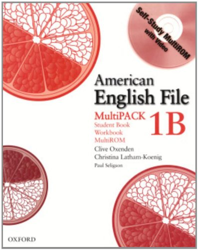 9780194774253: American English File Level 1b Student and Workbook, Multipack B