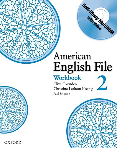 9780194774345: American English File Level 2: Workbook with Multi-ROM Pack (American English File First Edition)