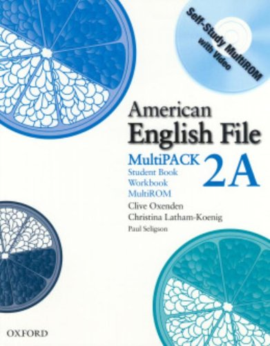 9780194774376: American English File Level 2 Student and Workbook Multipack A