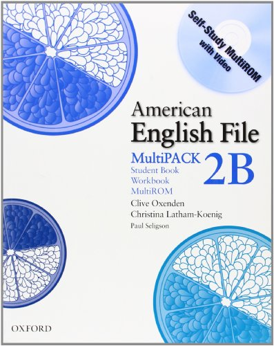 9780194774413: American English File Level 2: American english file multipack. Vol. 2B. Per le Scuole superiori