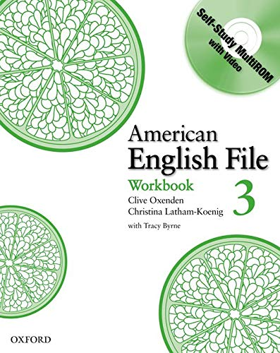 9780194774505: American English File Level 3: Workbook with Multi-ROM Pack (American English File First Edition)