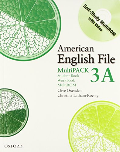 9780194774536: American English File Level 3 Student and Workbook Multipack A
