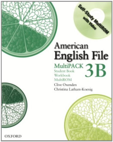 9780194774574: American English File Level 3 Student and Workbook Multipack B