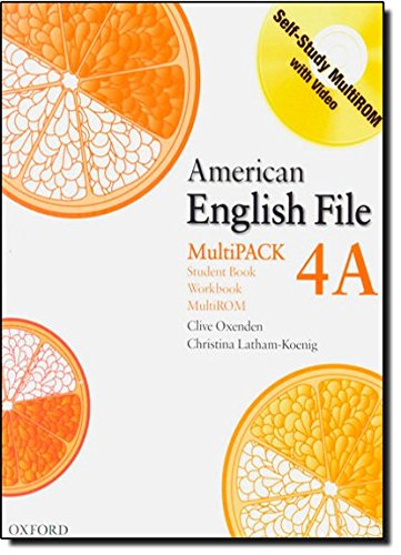 9780194774697: American English File Level 4: Student Book/Workbook Multipack A