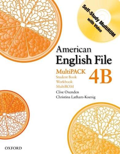 9780194774734: American English File Level 4: Student Book/Workbook Multipack B