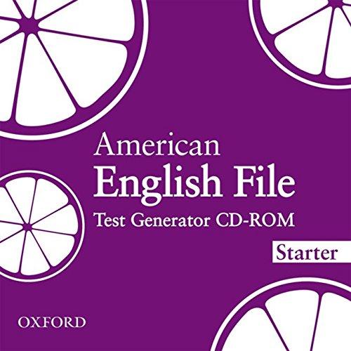 AMERICAN ENGLISH FILE STARTER TEST GENERATOR CD-ROM: OXENDEN ET AL