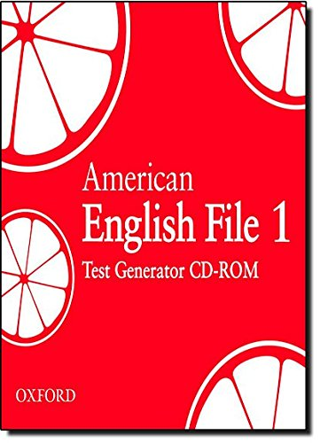 9780194774819: American English File Level 1: Test Generator CD-ROM
