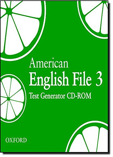 9780194774833: American English File Level 3: American English File 3: Test Generator CD-ROM (American English File First Edition)