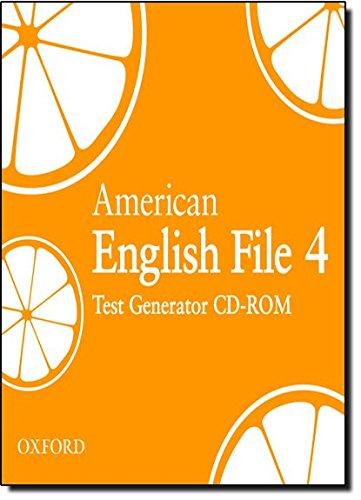 9780194774840: American English File Level 4: Test Generator CD-ROM