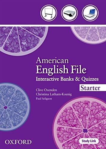 9780194774901: American English File Starter: Teacher Presentation Tool