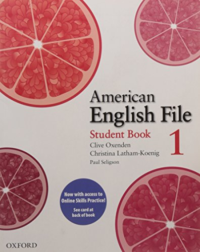 9780194775212: American English File: Level 1: Student Book Pack