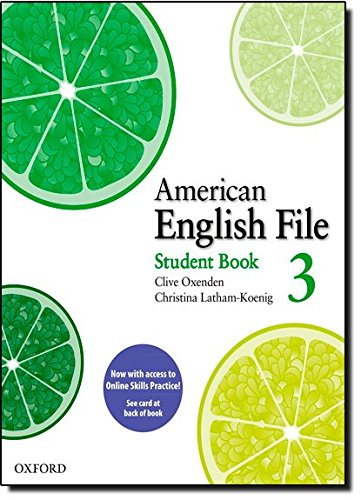 9780194775236: American English File: Level 3: Student Book Pack