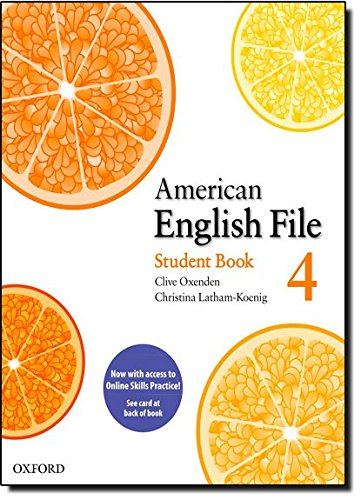 9780194775243: American English File: Level 4: Student Book Pack