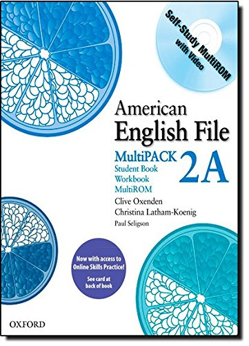 9780194775267: American English File 2 Student Book Multi Pack A