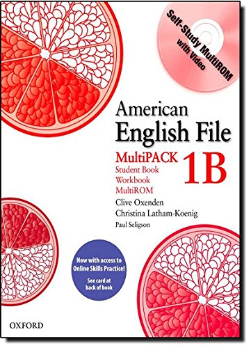 9780194775298: American English File 1 Student Book Multi Pack B