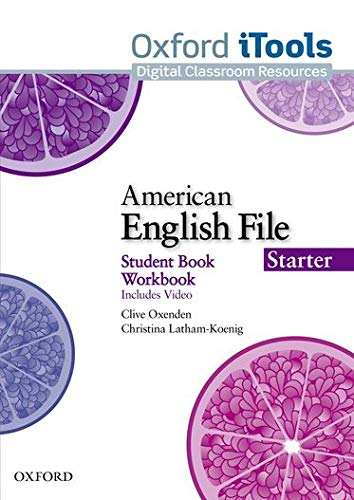 9780194775496: American English File Starter. iTools [Alemania] [DVD-ROM]
