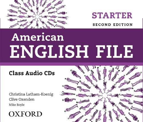 9780194775601: American English File 2E Starter Class Audio CDS