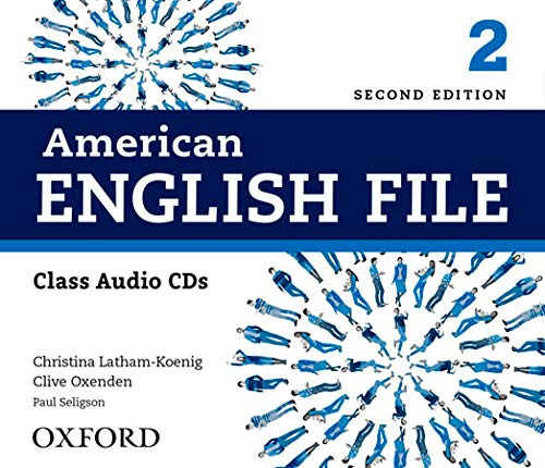 9780194775625: American English File 2: Class Audio CD (4) 2nd Edition (American English File Second Edition)