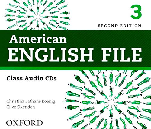 9780194775632: American English File 2nd Edition 3. Class Audio CD (4) (American English File Second Edition)
