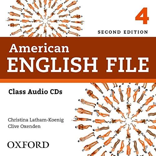 9780194775649: American English File 2E 4 Class Audio CD