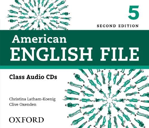 9780194775656: American English File 2nd Edition 5. Class Audio CD (4) (American English File Second Edition)
