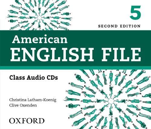 9780194775656: American English File 2nd Edition 5. Class Audio CD (4): American English File 2e Class Audio CD (American English File Second Edition)
