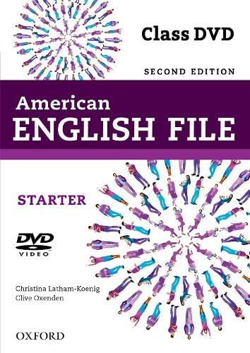9780194775663: American English File 2nd Edition Starter. DVD (American English File Second Edition)