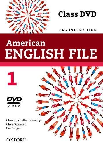 9780194775670: American English File 2E 1 Class DVD