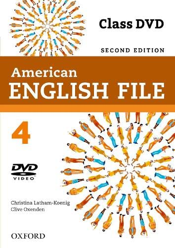 9780194775700: American English File 4: DVD 2ª Edición (American English File Second Edition)
