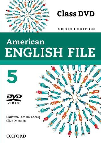 American English File: 5: Class DVD: Christina Latham-Koenig, Clive Oxenden