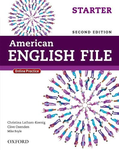 9780194776141: American English File Second Edition: Level Starter Student Book: With Online Practice