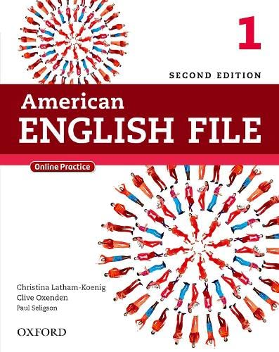 9780194776158: American English File Second Edition: Level 1 Student Book: With Online Practice