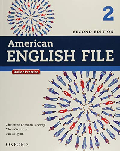 9780194776165: American English File 2E 2 Studentbook: With Online Practice