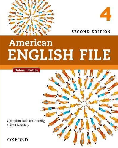9780194776189: American English File Second Edition: Level 4 Student Book: with Online Practice
