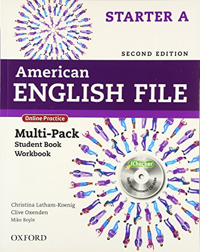 9780194776202: American English File Second Edition: Level Starter Multi-Pack A: With Online Practice and iChecker