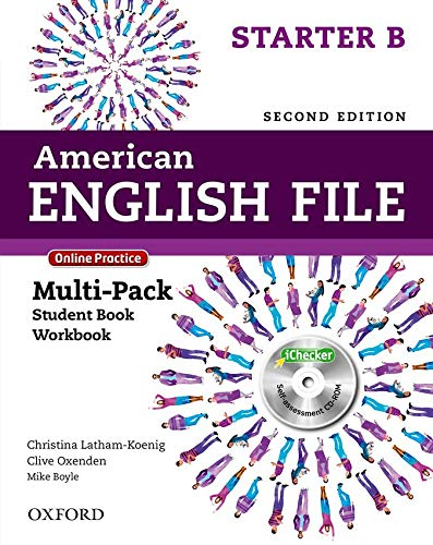 9780194776219: American English File Second Edition: Level Starter Multi-Pack B: With Online Practice and iChecker