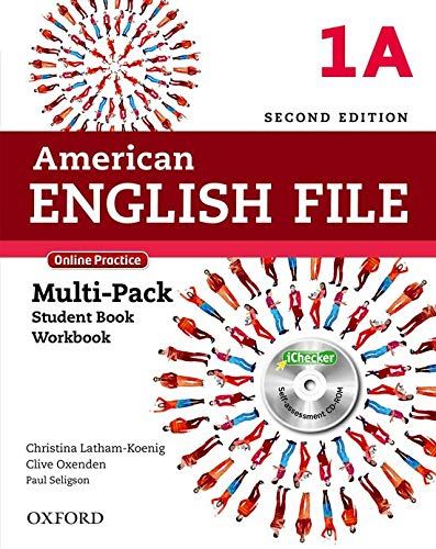 9780194776226: American English File: Level 1: Multipack A with Online Practice and iChecker